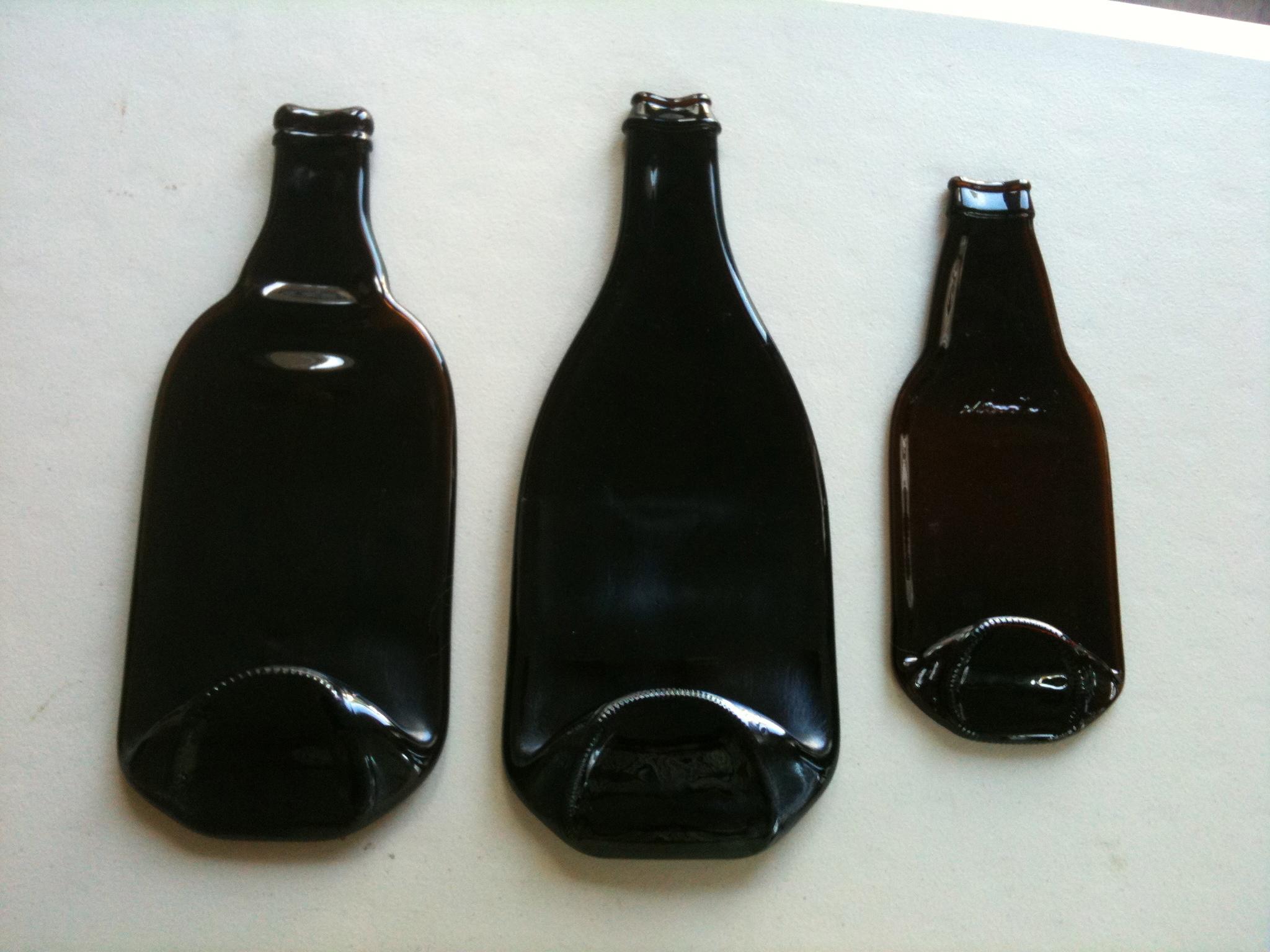 Bottle melt - How do you melt glass bottles ...